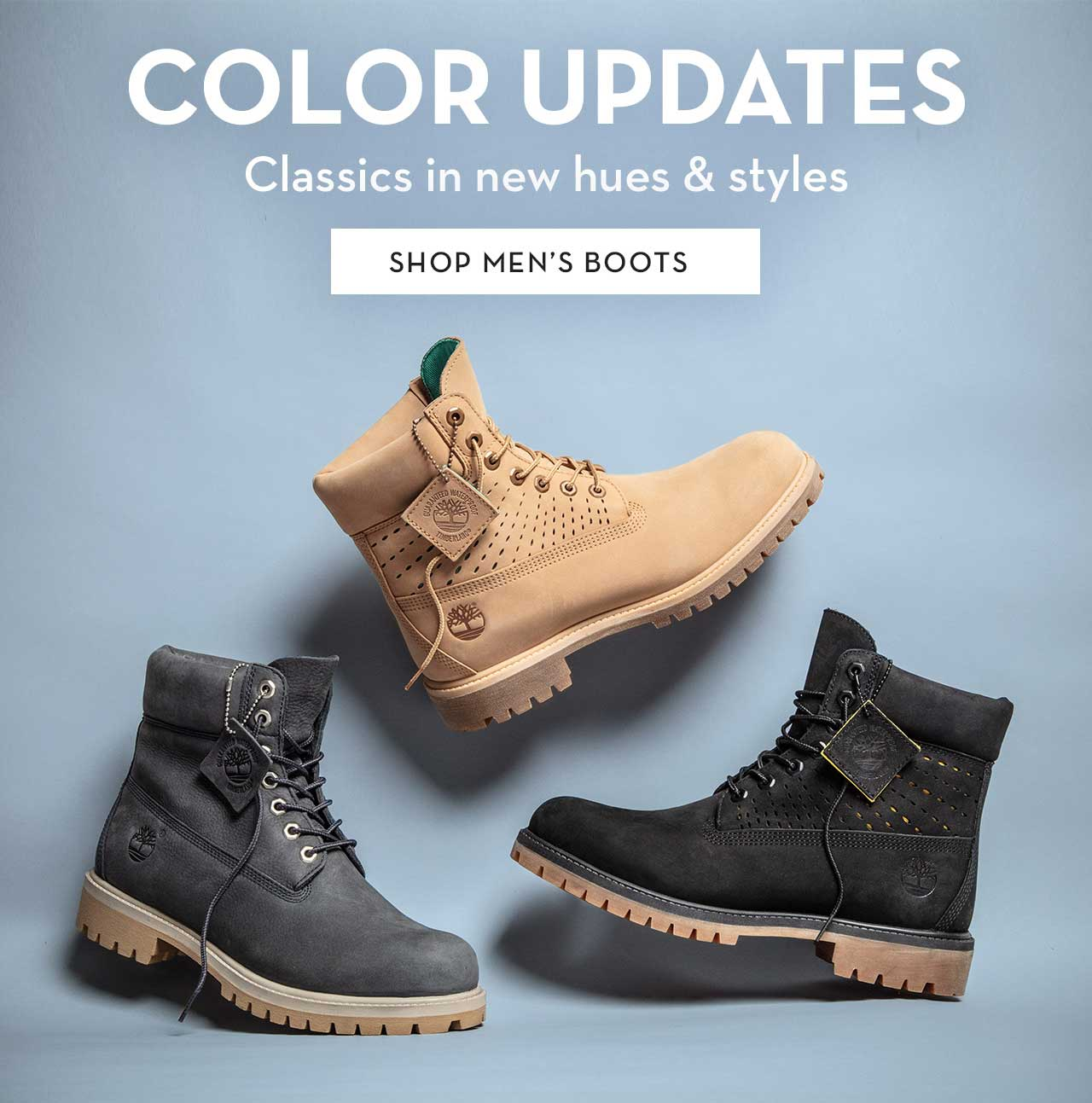 Color Updates Classics in new hues & styles Shop Men's Boots