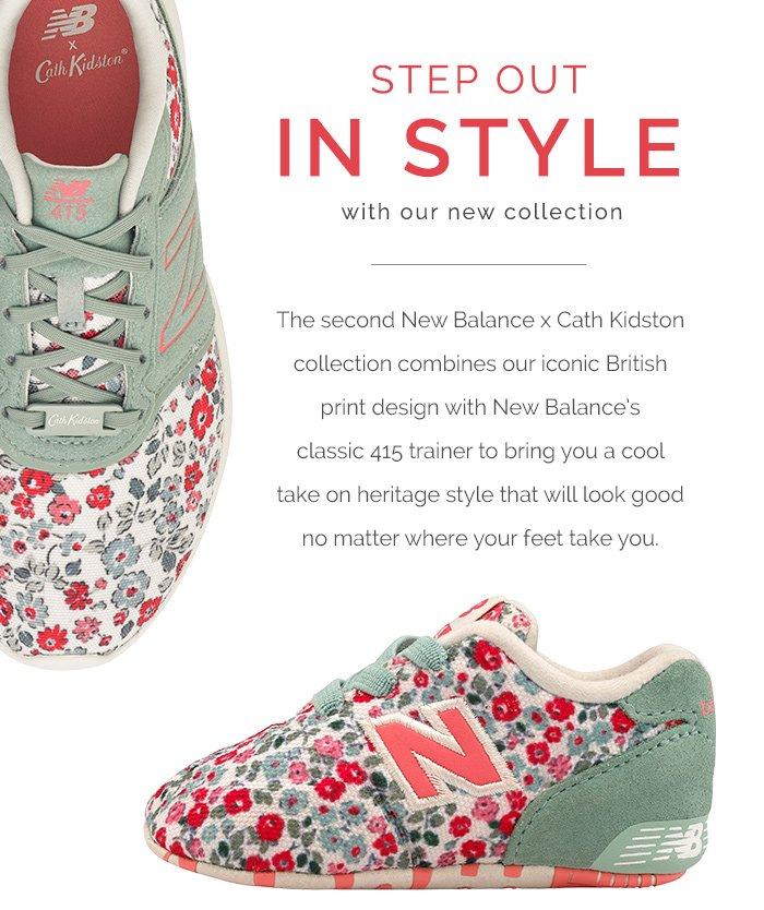 83d7de8be81 Shop the latest New Balance X Cath Kidston Collection