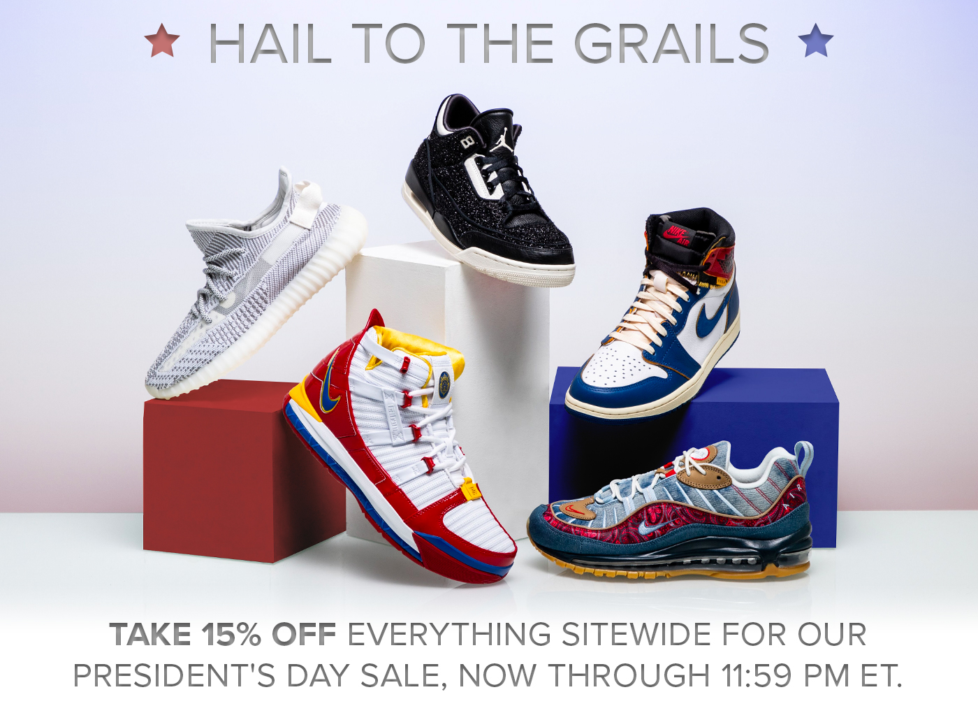 ceb95a7e359 Stadium Goods  Enjoy 15% off everything today only!