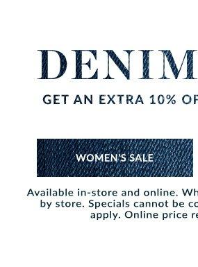Shop Women's Sale Jeans