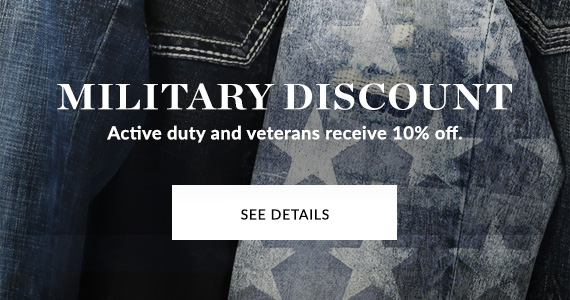 Military Discount: See Details