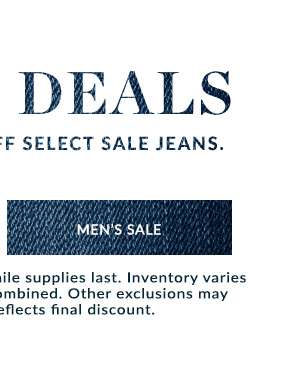Shop Men's Sale Jeans