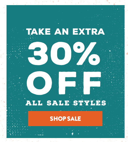Shop All Sale - Take an Extra 30% Off
