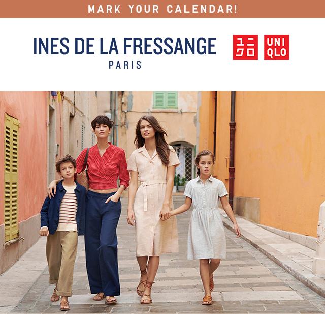 INES DE LA FRESSANGE PARIS + UNIQLO 2019 SPING/SUMMER COLLECTION