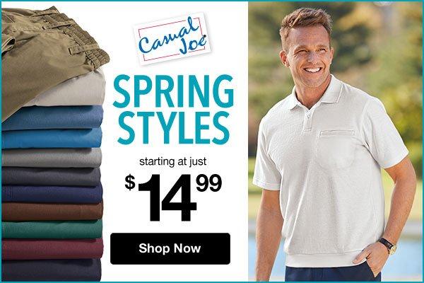 Shop Men's Casual Joe®!