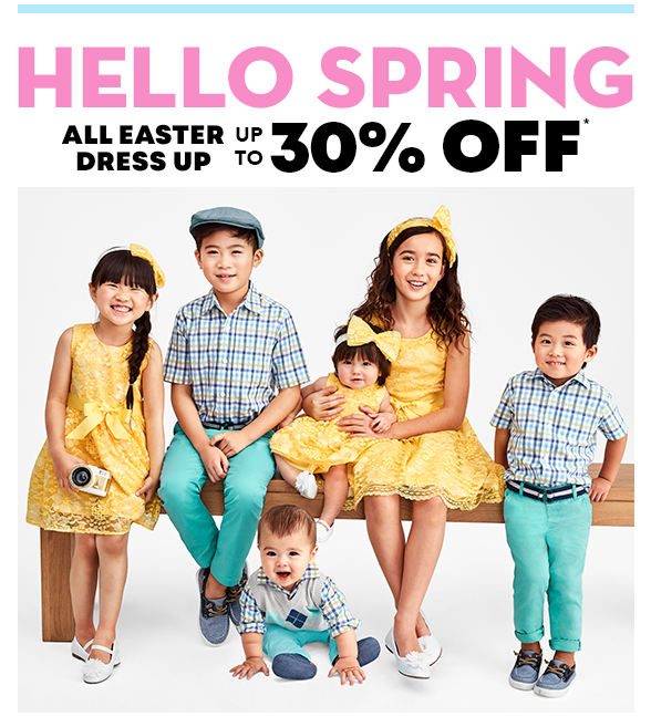 Up to 30% Off All Easter Dress Up