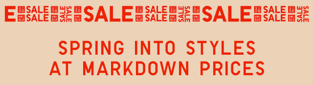 SPRING INTO STYLES AT MARKDOWN PRICES