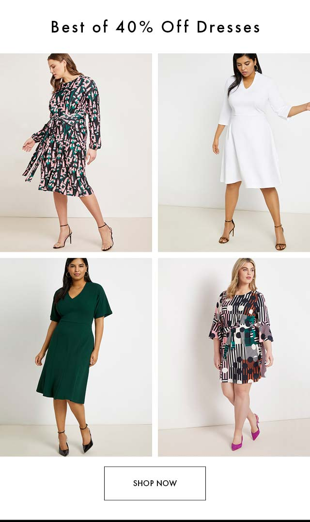 Best of 40% Off Dresses  2.19 AM MM