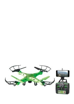 Striker Glow In The Dark Live Feed WiFi 2.4GHz 4.5CH RC Camera Spy Drone