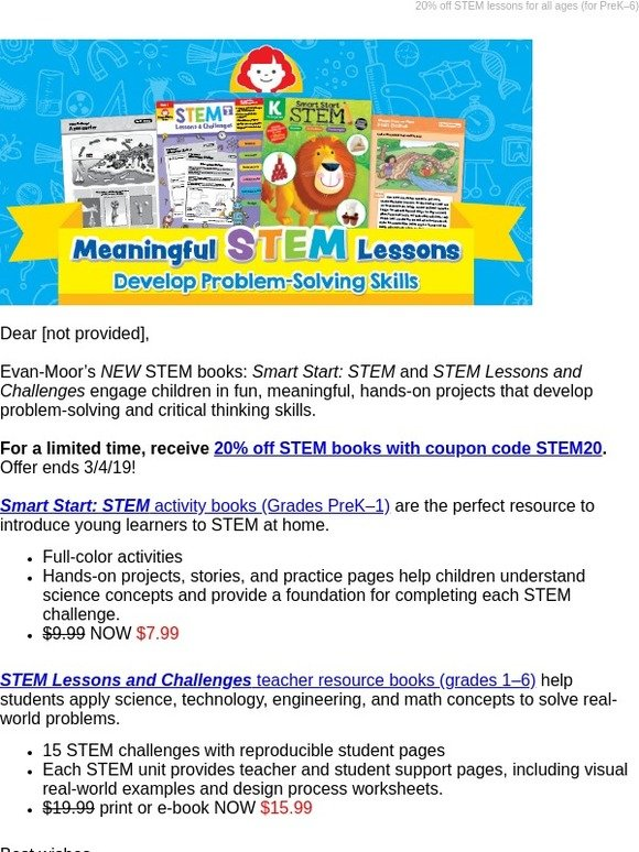 Evan-Moor Educational Publishers: STEM activities for the classroom