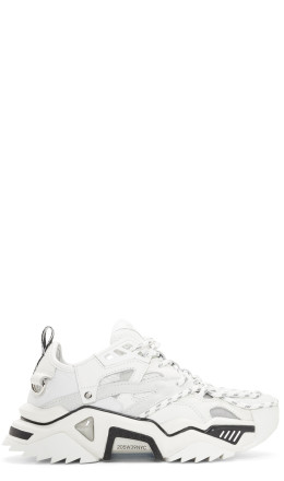 Calvin Klein 205W39NYC - White Strike 205 Sneakers