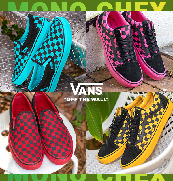 Journeys: NEW. VANS. TODAY. ONLY AT