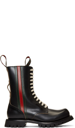 Gucci - Black Arley Boots