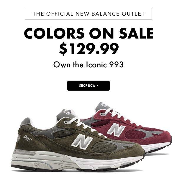 discount new balance 993