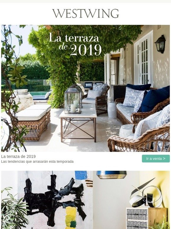 Westwing La Terraza De 2019 Lo Nuevo Que Arrasará Milled