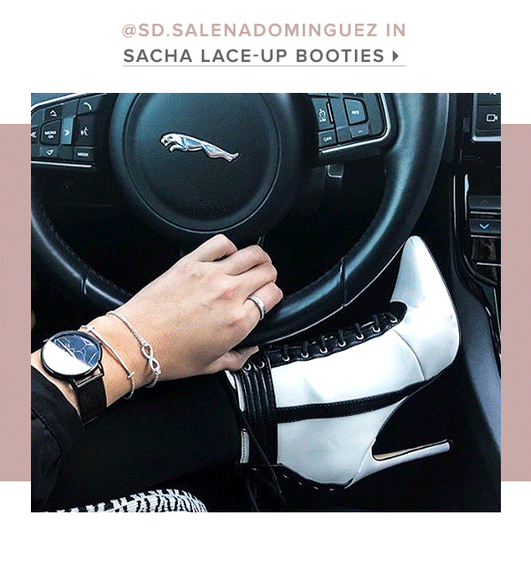 SACHA LACE UP BOOTIE