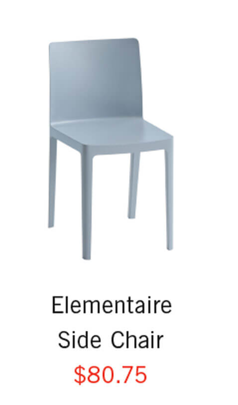 Elementaire Side Chair