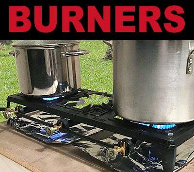 Carolina Cooker Cast Iron Burners