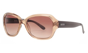 Kenneth Cole Reaction KC1297 45F Women's Oversized Sunglasses