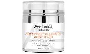 Aesthetics Retinol 2.5% High Potency Anti-Aging Cream (1.7 Fl. Oz.)