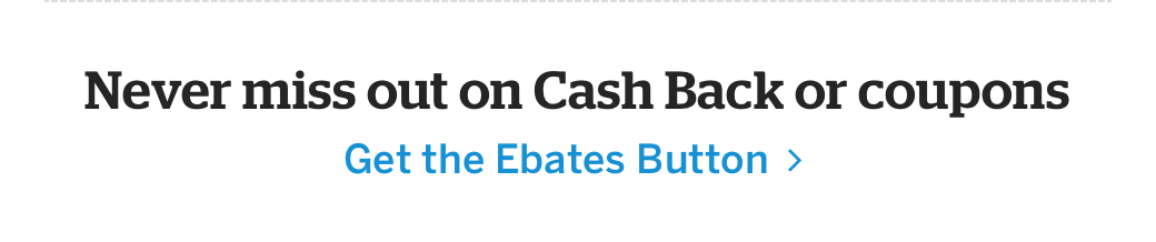 Get the Ebates Button