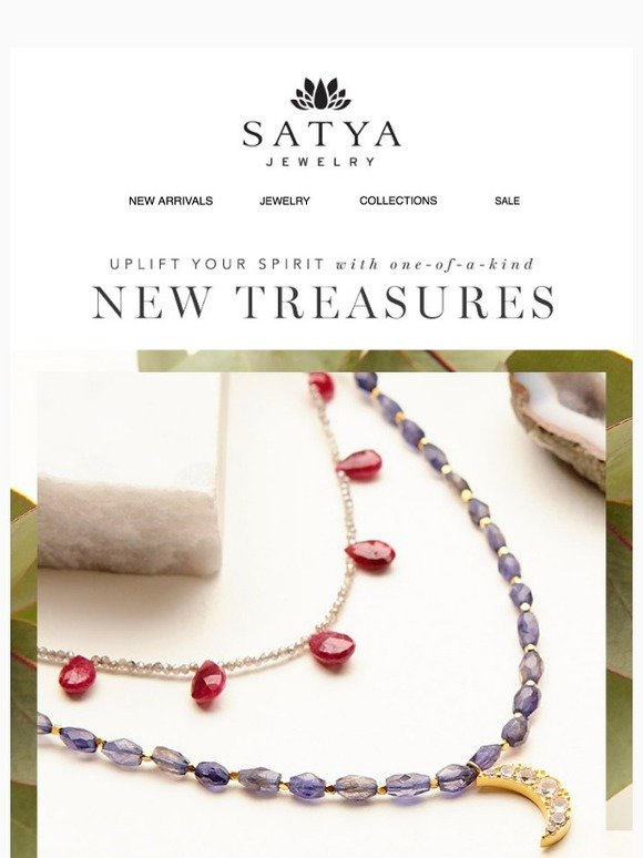 Satya Jewelry: Adorned With Love | Milled