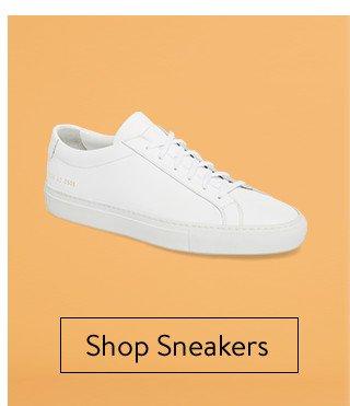Minimalist men's sneakers.