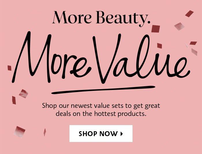 Shop Now Our Newest Value sets