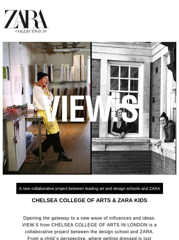 Zara View S Chelsea College Of Arts Zara Kids Milled