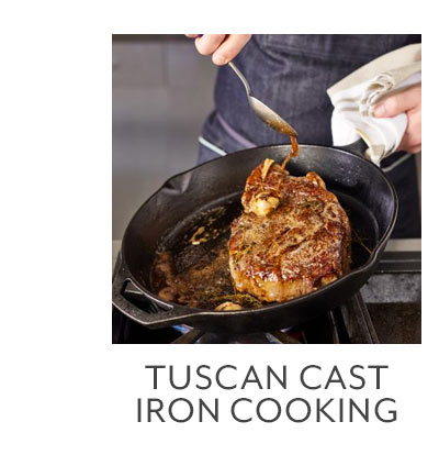 Class: Tuscan Cast Iron Cooking