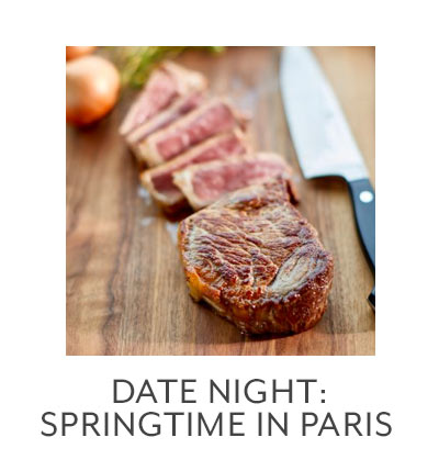 Class: Date Night • Springtime in Paris