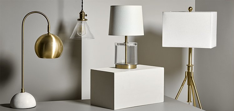 Up to 70% Off Table & Floor Lamps
