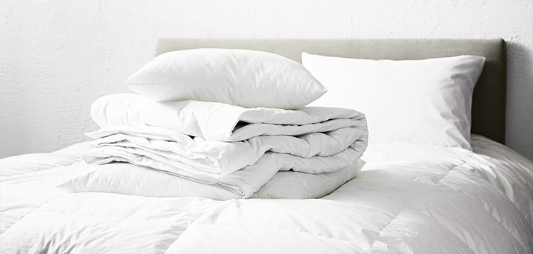 Spring Preview: Lightweight Down Bedding