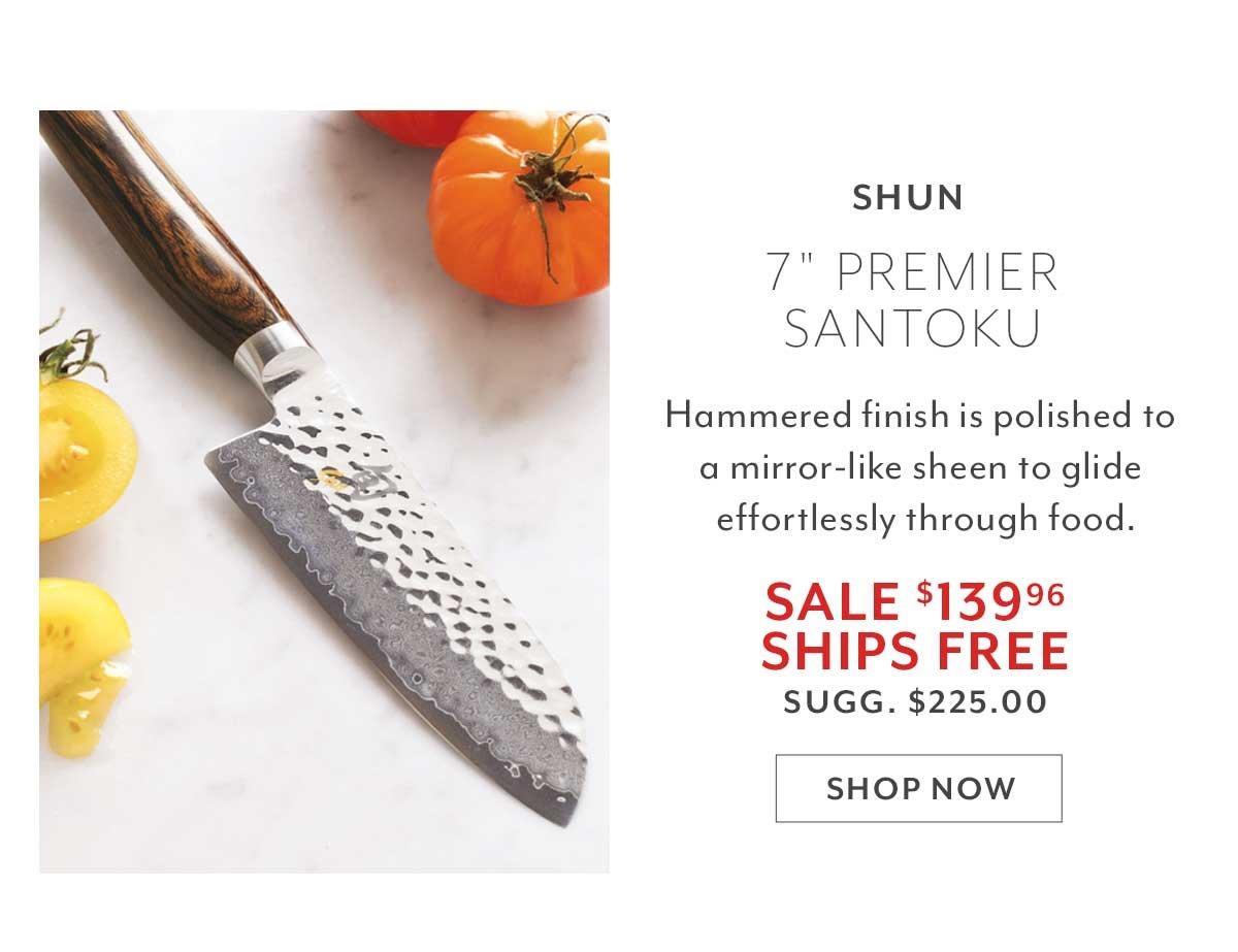 Shun Premier Santoku, 7