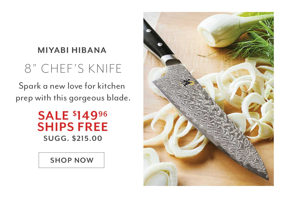Miyabi Hibana Chef's Knife, 8