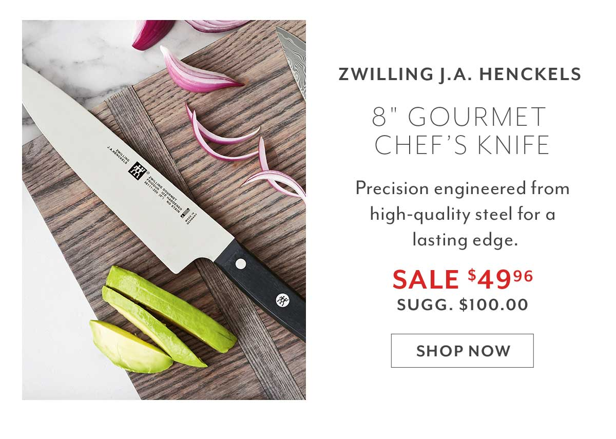 Zwilling J.A. Henckels Gourmet Chef's Knife, 8