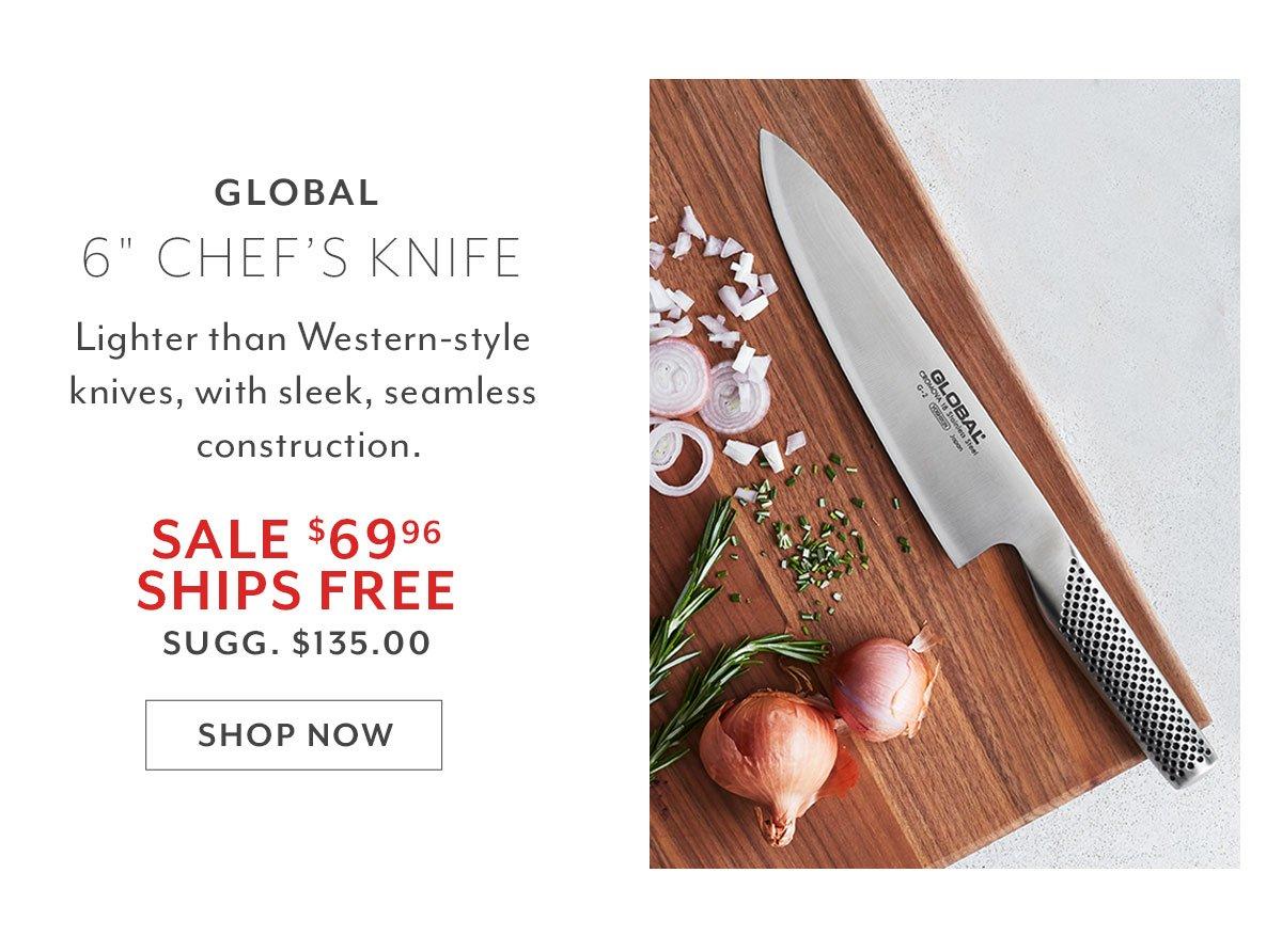 Global Chef's Knife, 8