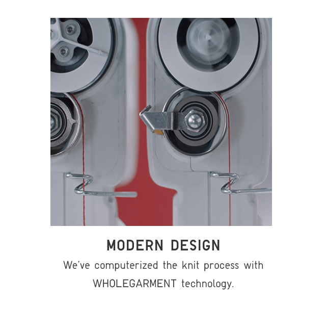 MODERN DESIGN - WHOLEGARMENT TECHNOLOGY