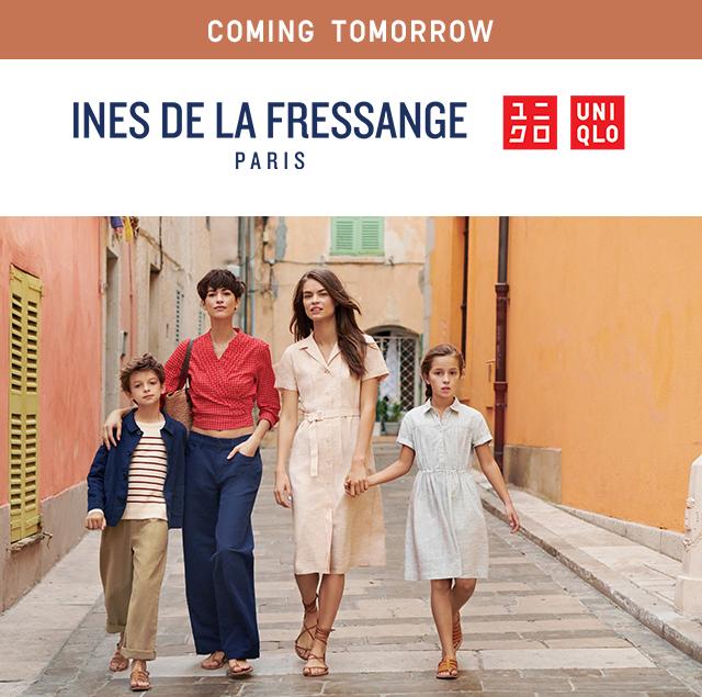 COMING TOMORROW - INES DE LA FRESSANGE PARIS + UNIQLO 2019 SPING/SUMMER COLLECTION