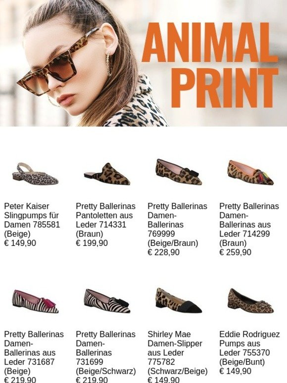 Animal Print jetzt wird's wild!