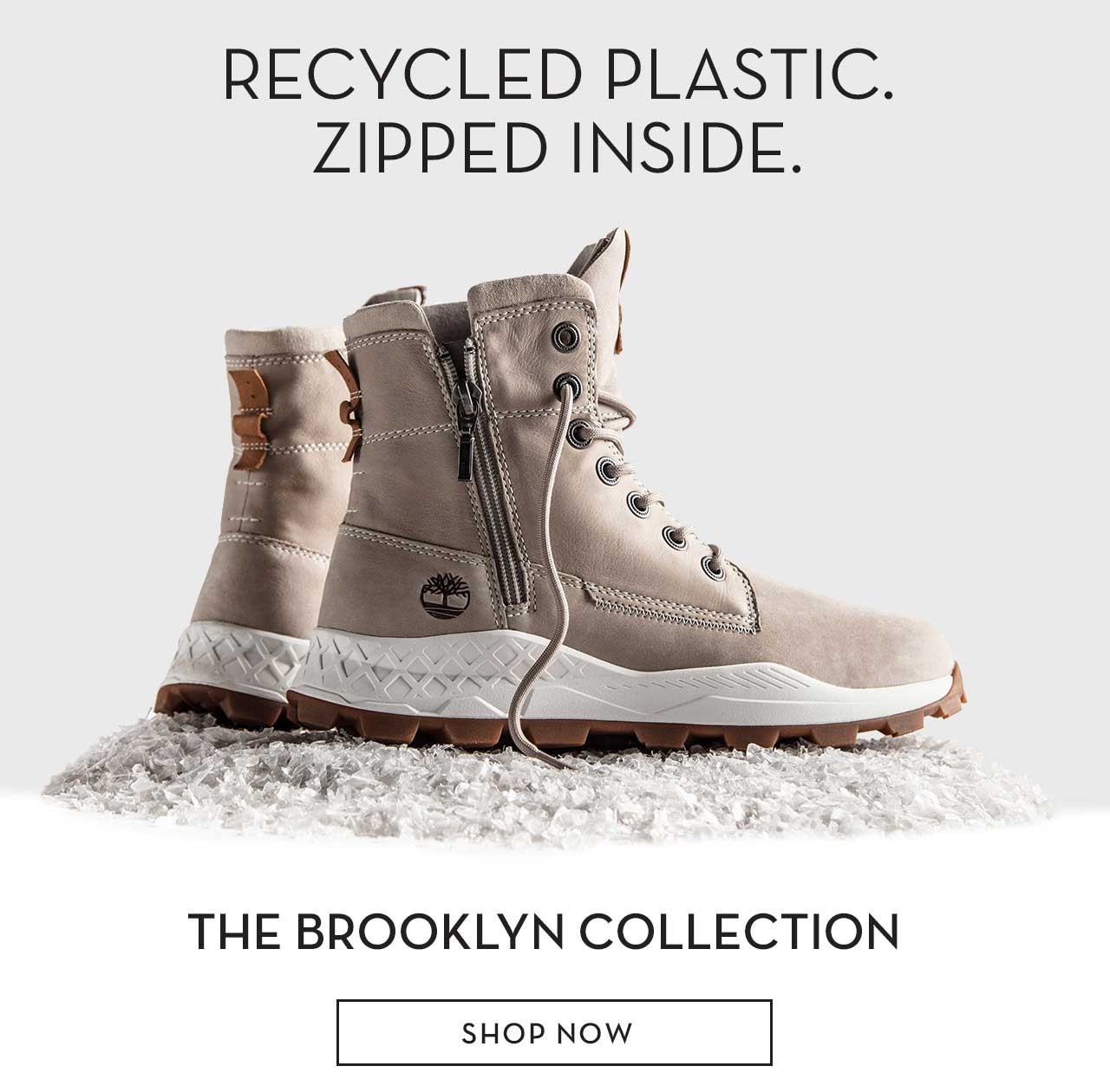124ec67504 Timberland: Boots powered by recycled plastic. | Milled