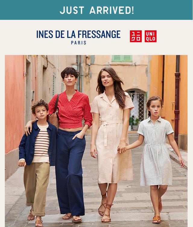 INES DE LA FRESSANGE PARIS + UNIQLO