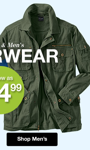 Shop Men's Outerwear!