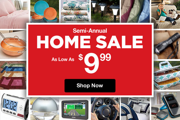 Shop Semi-Annual Home Sale!