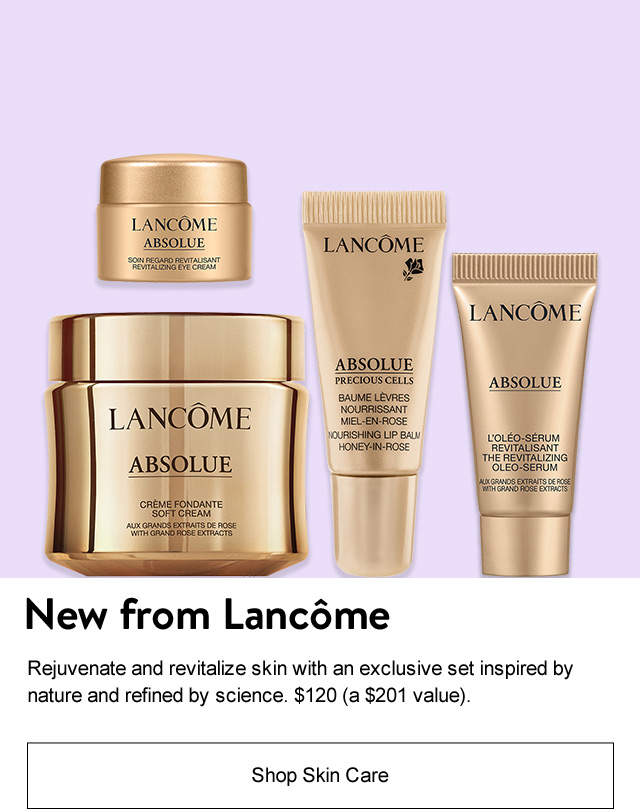 New from Lancôme.