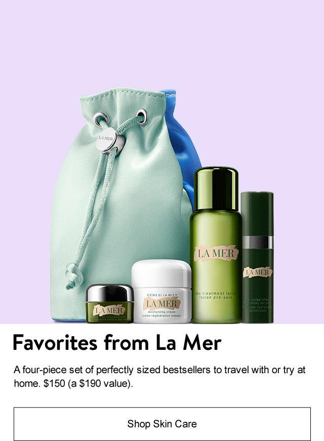 Favorites from La Mer.