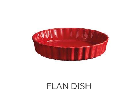 Flan Dish