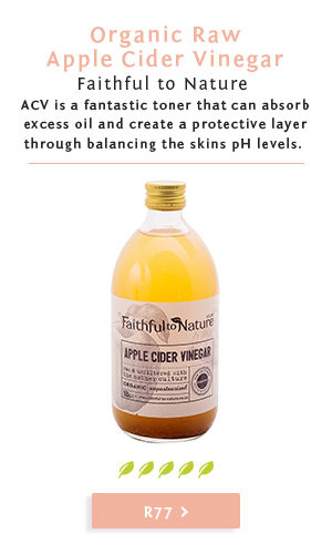 Faithful to Nature: Say Goodbye to Acne & All Your Skin