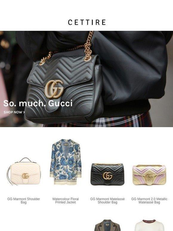f28bbc6f73769c Cettire: So. much. Gucci. | Milled