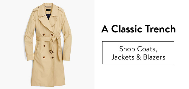 A classic trench.